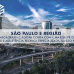 MEGAGRAPHIC EM SÃO PAULO