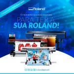 Roland DG apresenta novas soluções para diversos mercados